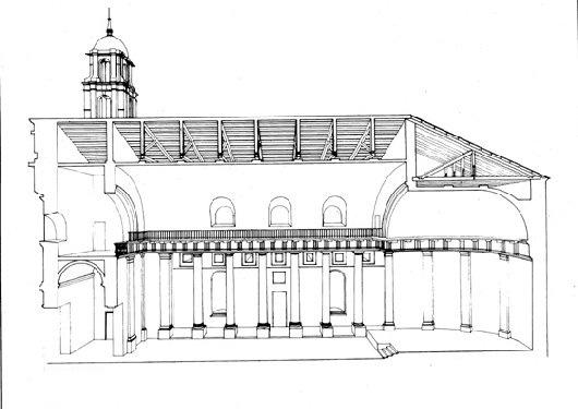 Alzado Concatedral Vigo