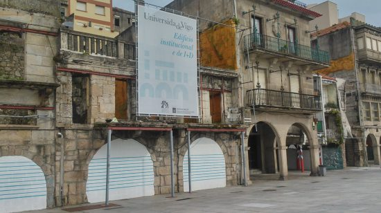 Asinado o Convenio para a creación dun edificio da Universidade de Vigo no Casco Vello