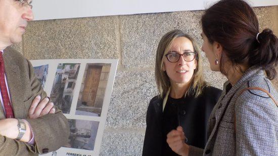 A Conselleira de Vivenda visita as últimas rehabilitacións acometidas polo CCVV