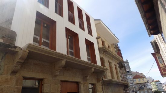 Ferrería 45-47 obtén unha das mencións dos Premios  Galegos de Arquitectura