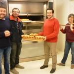 De esquerda a dereita: Francisco, Jorge, Emilio e Macarena